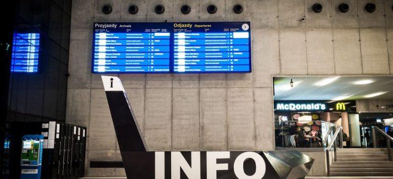 Bahn- und Zugverkehr in Polen